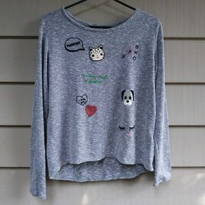 Girls Kawaii H&M sweater 14Y